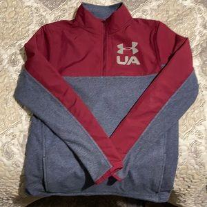 Under Armour 1/4 zip light weight sweater/jacket